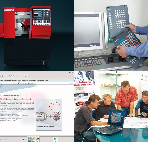 CNC Classroom - Interchangeable Control Software
