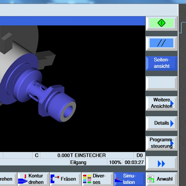 3D View - 3D Simulation software for Milling & Turning