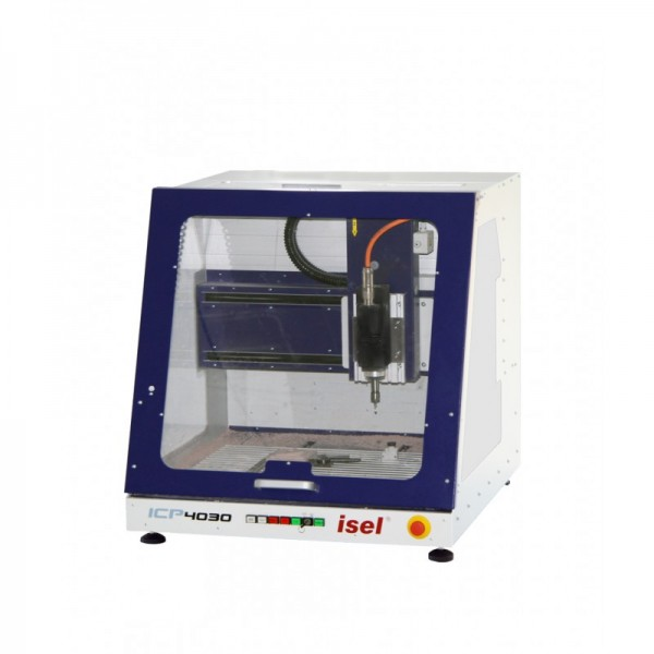 Desktop ICP Series - Isel desktop CNC router by emco - Door closed