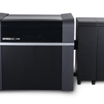 Stratasys J750 3D printing