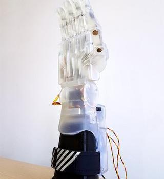 3d printed robotic hand