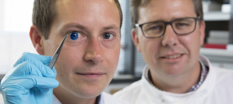 First 3D printed human corneas