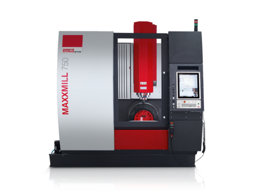 Emco Maxxmill 750 Cnc Lathe And Milling Machine By Emco Uk
